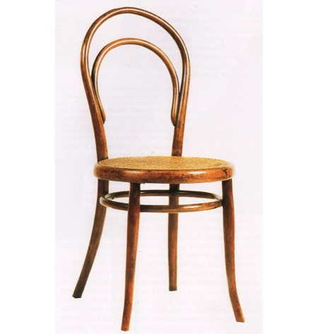 "The Thonet chair, ""No. 14"" or ""Bistro chair"""